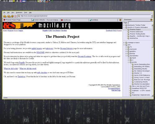 Phoenix 0.2 browser