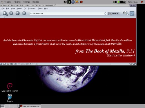 Book of Mozilla :)