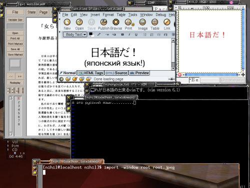 Mandrake 8.1. Японский input и печать
