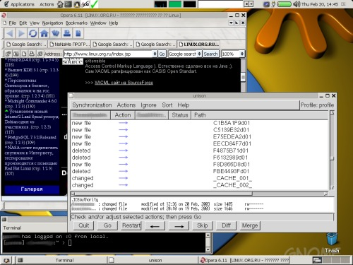 GNU/Linux on Laptop