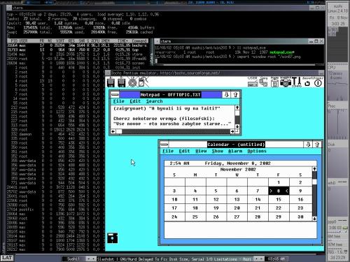 Windows 2.4.18, Linux-87. или я что-то путаю?
