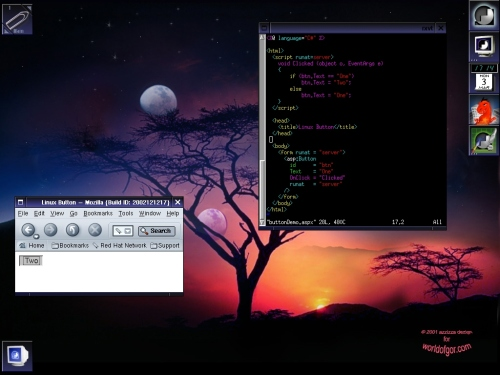 Linux C# ASP .NET
