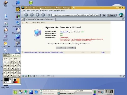 Windows (C) system detected ....