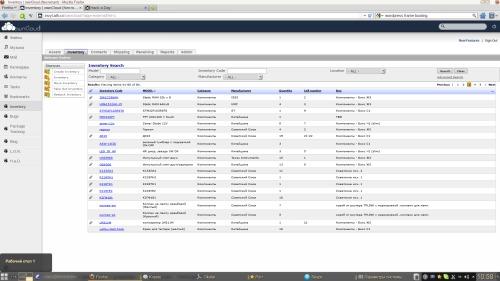 Инвентаризация: OwnCloud + Tracmor