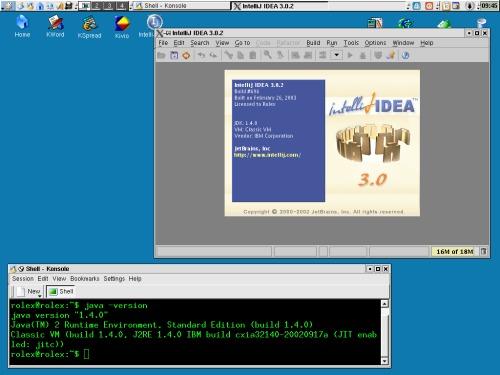 Фокус-шмокус: IntelliJ IDEA и IBM JDK 1.4.0