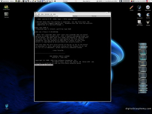 Reiser4 && GNU GRUB