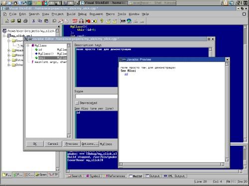 Visual Slick Edit 7.0.1 + RedHat9