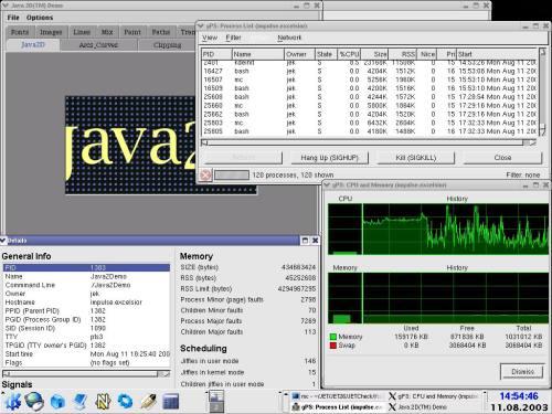 gps & Java2Demo