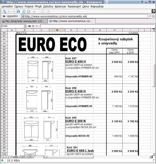 OpenOffice встраивается в Konqueror