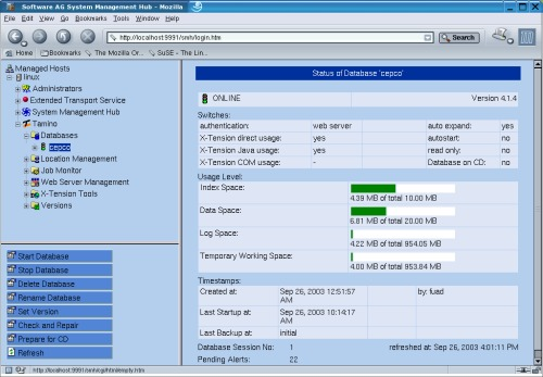Tamino XML Server