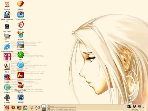KDE :)