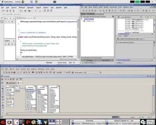 Netbeans,Together,Eclipse что лучше