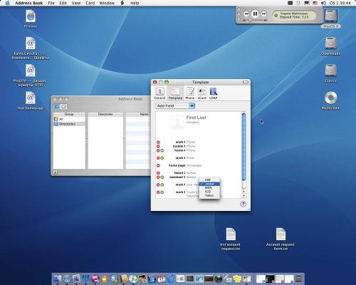 Jabber & MacOX X 10.3.3