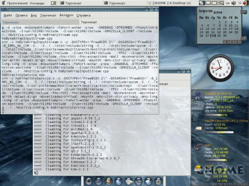 Gnome 2.6 on FreeBSD 5.2.1