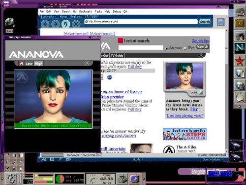 Ananova under Linux