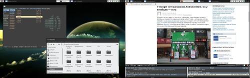 Openbox+pytyle2+vim-like