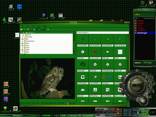 BlackBox 0.60.1 + X-Craft theme (kov)