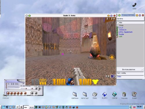 Quake3 и пр. в Линухе