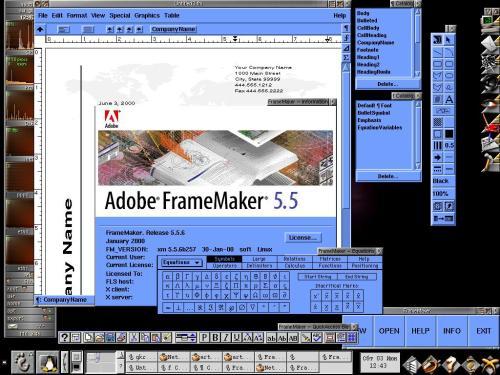 Adobe FrameMaker 5.5 - лучший текстовый процессор!