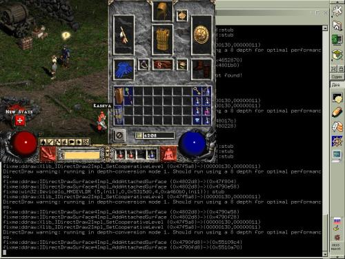 Diablo II под Linux =)