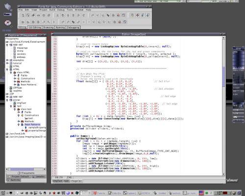 А это я работаю :) JForte Community Edition 1.0.