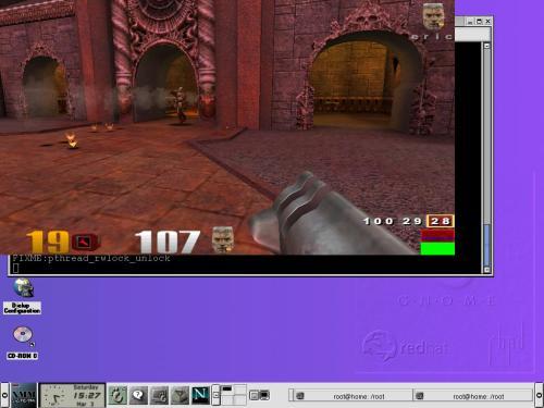 Quake-3 под WINE