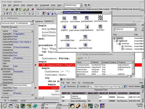 Kylix=Delphi for Linux