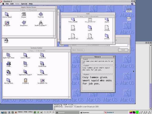 Basilisk II, MAC OS 8