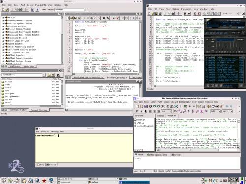 MATLAB 6.1— такое тоже под linux водится!