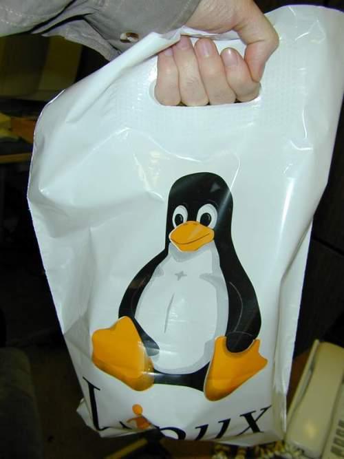Пакетик с пингвином