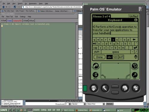 Palm Emulator