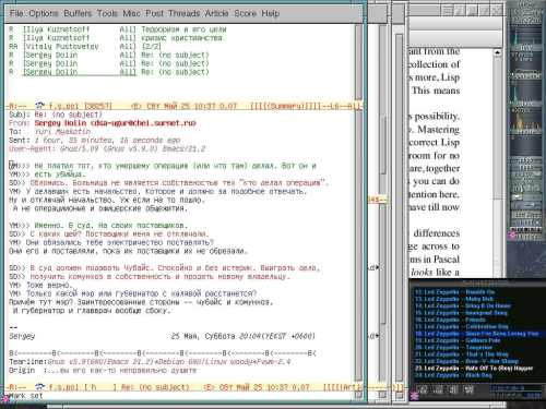 Мой fvwm: Desktop 2