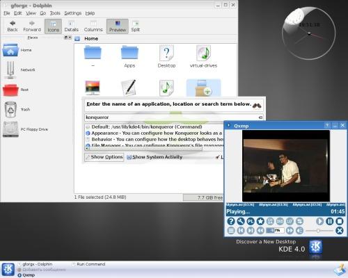 KDE4 Beta 2