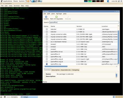 Slackware + portage