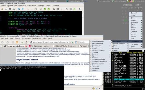 Debian Lenny/Sid, IceWM + PyPanel
