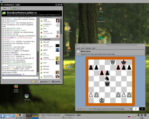 Я обыграл GNU Chess