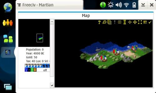 Freeciv on OS2008