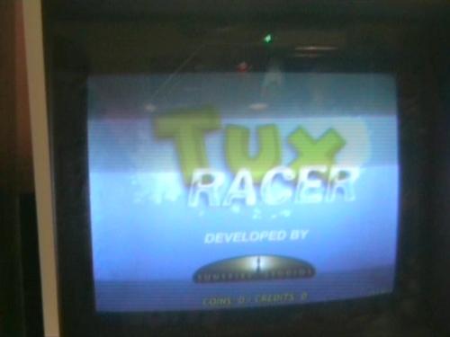 Игромат Tux Racer