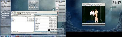 RFRemix 16, KDE, TwinView
