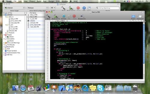 Fortran 90 и Mac
