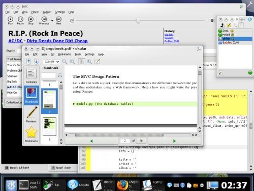 KDE4 - прелести и гадости
