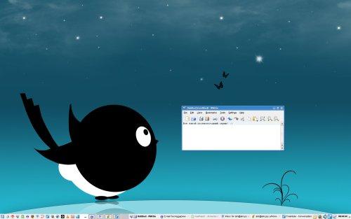 Постновогодний KDE