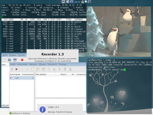 ArchLinux + standalone apps