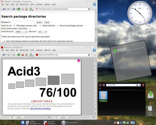 прогресс разработки: KDE 4.0.82