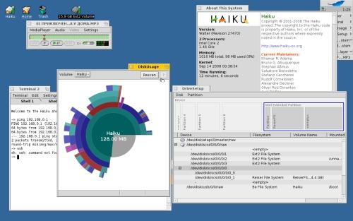 Haiku-OS -> Alpha release