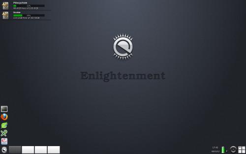 Slackware 13.37 + Enlightenment DR17