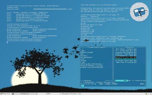 Xfce+mandriva. Первая проба =)