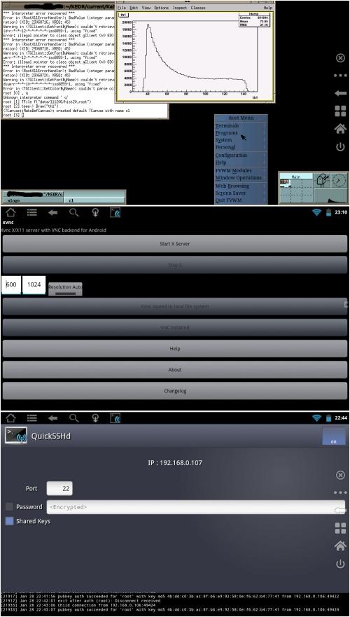 X Window server на Android
