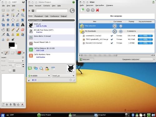 Единый вид для GTK2 и KDE4