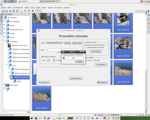 Picasaweb и digiKam